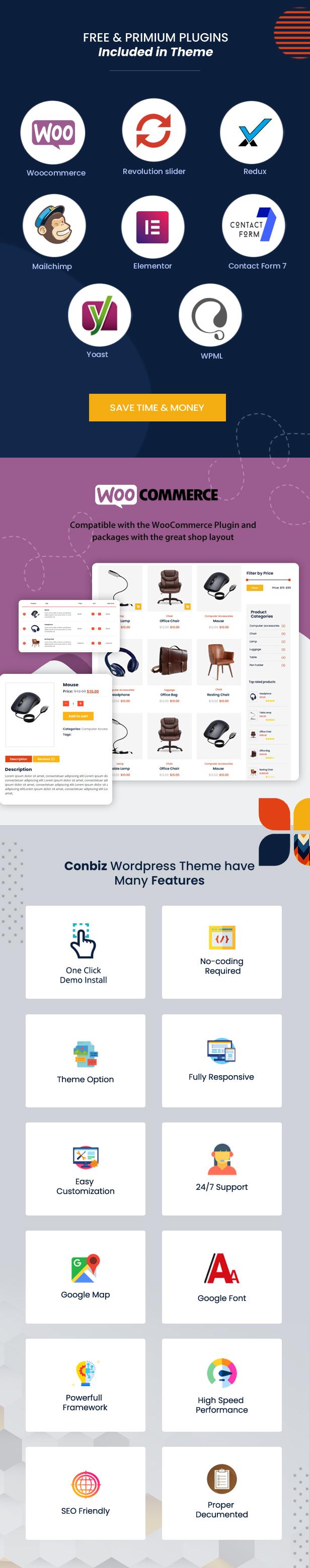 Conbiz – Business & Consulting WordPress Theme - 8